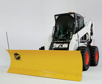 Fisher HD Plows for your Skid Steer installed by Sarris Truck Equipment, Waltham, MA.