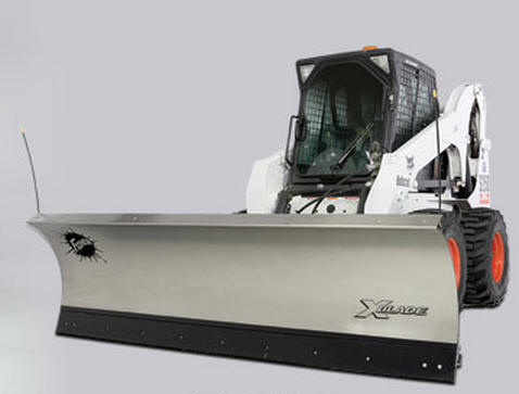 Fisher X-Blade Plows for your Skid Steer installed by Sarris Truck Equipment, Waltham, MA.